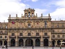 Plaza Mayor - Grand Square of Salamanca, Spain royalty free stock images