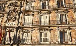 Plaza Mayor - Historic building Royalty Free Stock Images