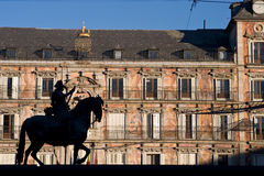 Plaza Mayor Left Stock Images