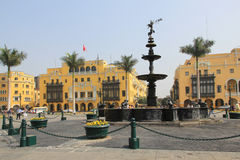 Plaza Mayor, Lima Royalty Free Stock Image