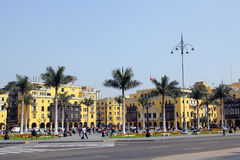 Plaza Mayor, Lima Royalty Free Stock Photos