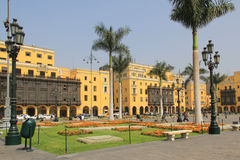 Plaza Mayor, Lima Royalty Free Stock Photography