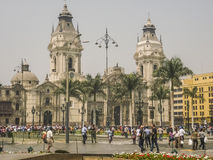 Plaza Mayor of Lima in Peru Royalty Free Stock Image