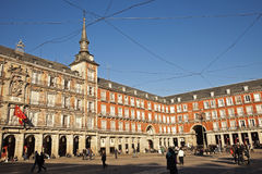 Plaza Mayor in Madrid Stock Photo