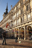 Plaza Mayor in Madrid Stock Photos