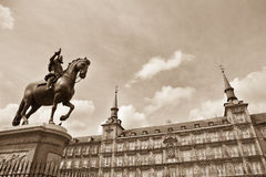 Plaza Mayor, Madrid Royalty Free Stock Images