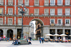 Plaza Mayor, Madrid Royalty Free Stock Photography