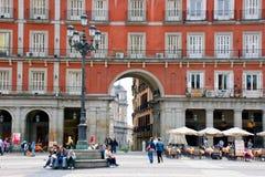 Plaza Mayor, Madrid royalty free stock photography
