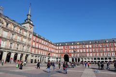 Plaza Mayor, Madrid Stock Image