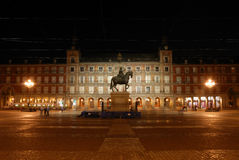 Plaza Mayor in Madrid Stock Images