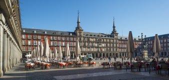 Plaza Mayor in Madrid Royalty Free Stock Photos