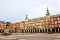 Plaza Mayor, Madrid, Spain Stock Photo