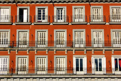 Plaza Mayor, Madrid, Spain Stock Image