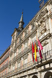 Plaza Mayor in Madrid, Spain Royalty Free Stock Photography