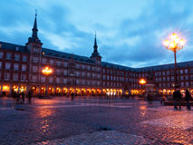 Plaza Mayor, Madrid, Spain Stock Photography