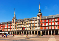Plaza Mayor  in Madrid Royalty Free Stock Images