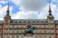 Plaza Mayor, Madrid, Spain Royalty Free Stock Images