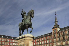 Plaza Mayor, Madrid, Spain royalty free stock image