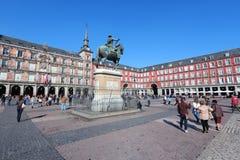 Plaza Mayor, Madrid Royalty Free Stock Photos