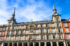Plaza Mayor, Madrid, Spain Royalty Free Stock Images