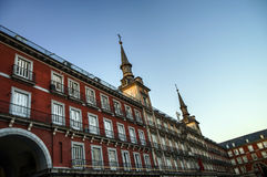 Plaza mayor in Madrid Royalty Free Stock Photography