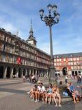 Plaza Mayor, Madrid, Spain Royalty Free Stock Photos