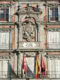 Plaza Mayor, one of the main landmarks in Madrid Royalty Free Stock Images