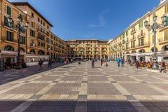Plaza Mayor, Palma de Mallorca Royalty Free Stock Photo
