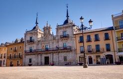 Plaza Mayor, Ponferrada Royalty Free Stock Photos