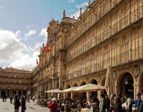 Plaza Mayor in Salamanca Royalty Free Stock Photo