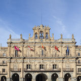Plaza Mayor in Salamanca Stock Photo