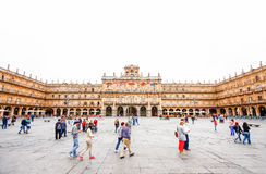 Plaza Mayor in Salamanca, C Royalty Free Stock Photography