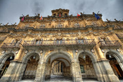 Plaza Mayor of Salamanca Royalty Free Stock Images