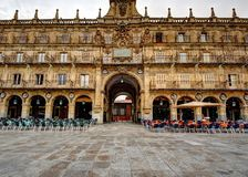 Plaza Mayor of Salamanca Stock Images