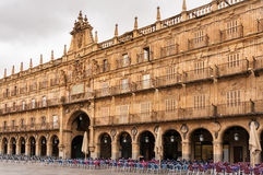 Plaza Mayor of Salamanca Stock Photography