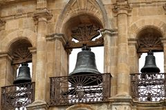 Plaza Mayor of Salamanca: detail Royalty Free Stock Image