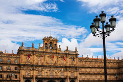 Plaza Mayor of Salamanca Stock Image