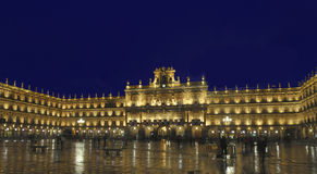 Plaza mayor, Salamanca, Spain Stock Photography
