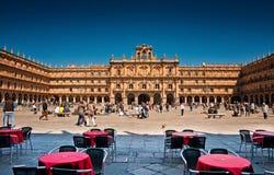 Plaza Mayor of Salamanca, Spain Royalty Free Stock Image