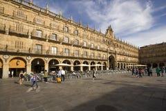 Plaza Mayor in Salamanca, Spain Royalty Free Stock Photography