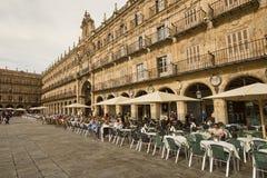 Plaza Mayor in Salamanca, Spain Stock Photos