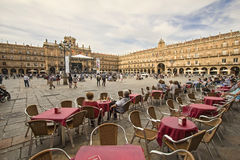 Plaza Mayor in Salamanca, Spain Royalty Free Stock Photography