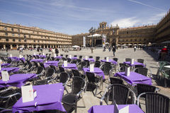 Plaza Mayor in Salamanca, Spain Royalty Free Stock Photos