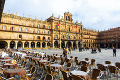 Plaza Mayor. Salamanca Royalty Free Stock Images