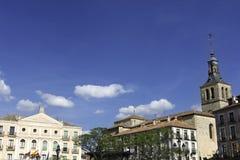 Plaza Mayor, Segovia Stock Photos