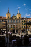Plaza Mayor in Segovia, Spain Royalty Free Stock Images