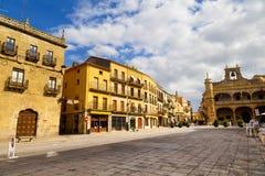 Plaza Mayor Square, Ciudad Rodrigo, Salamanca. Spain Royalty Free Stock Photo