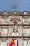 The Plaza Mayor square in Madrid, Spain. Royalty Free Stock Images