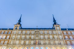 The Plaza Mayor square in Madrid, Spain. Royalty Free Stock Photography