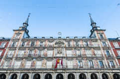 The Plaza Mayor square in Madrid, Spain. Royalty Free Stock Image